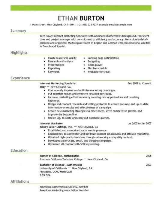 The Incredible Social Media Marketing Resume Sample | Resume ...