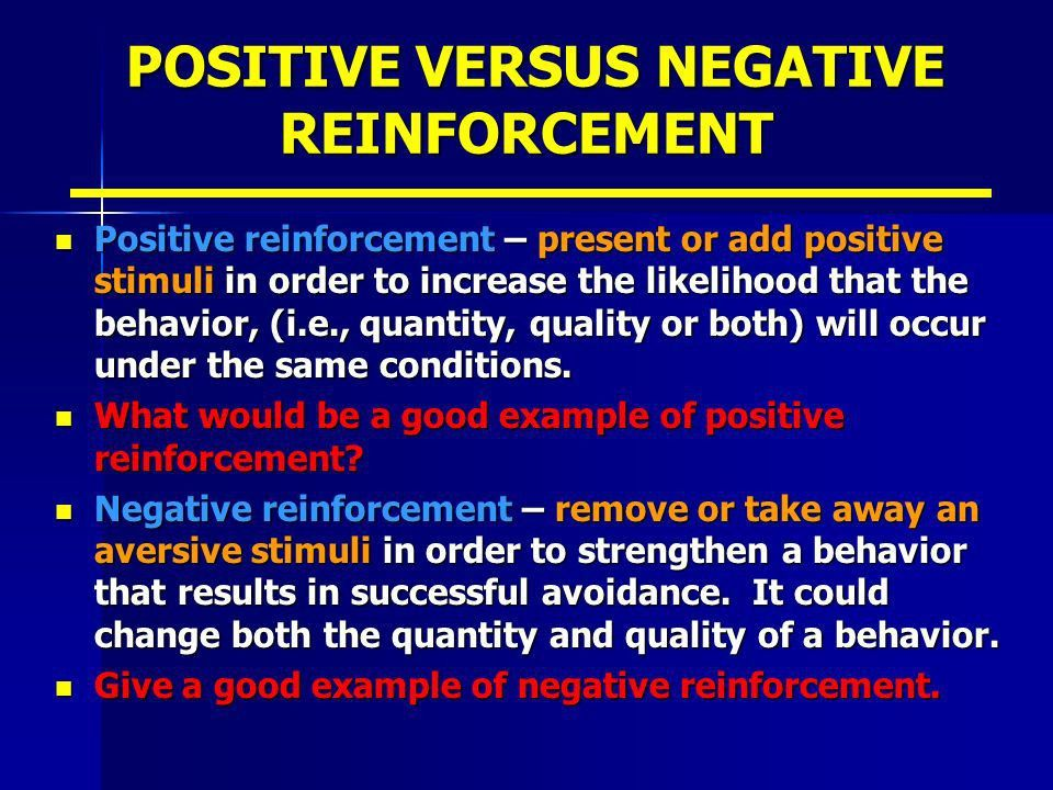 REINFORCEMENT AND FEEDBACK - ppt video online download