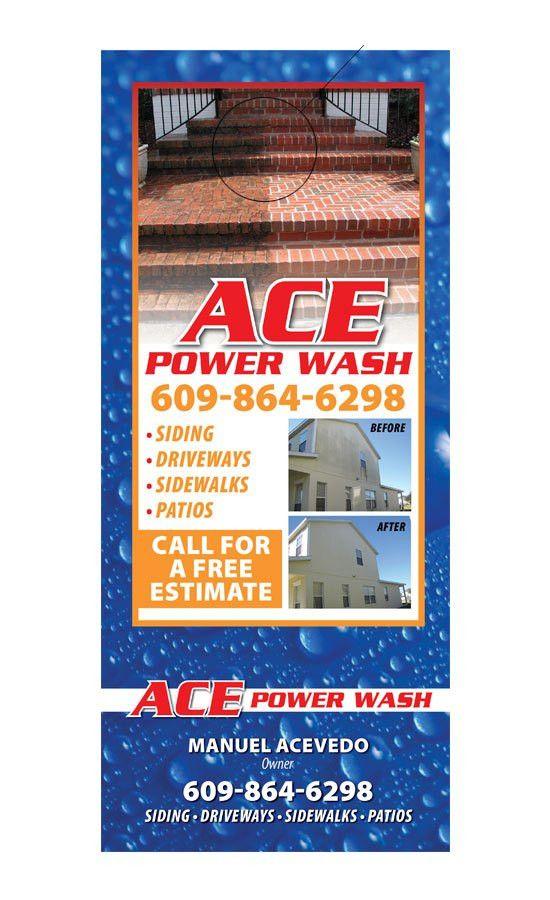 Power Washing Door Hanger Samples