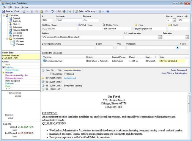 E-Staff Recruitment Software - Applicant Tracking System ...