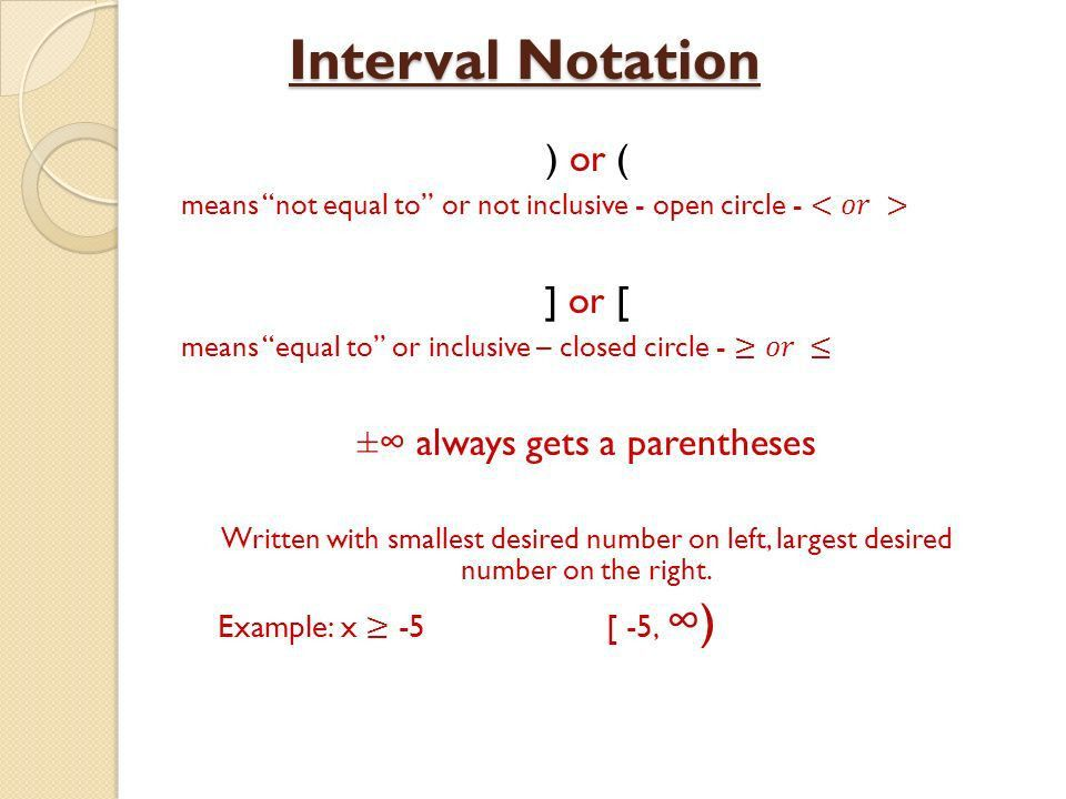 Solving Inequalities Objective: SWBAT solve inequalities and ...