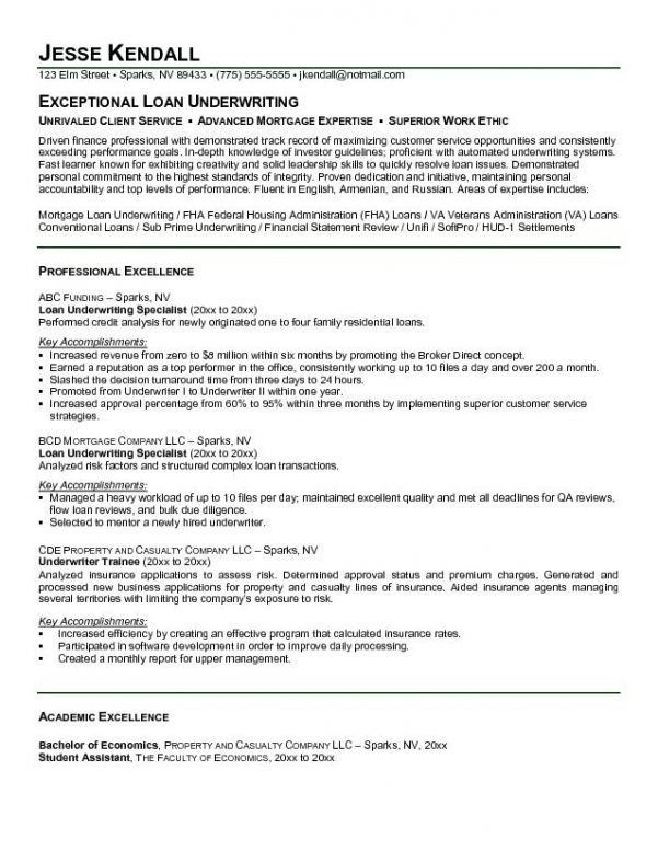 Download Loan Processor Cover Letter | haadyaooverbayresort.com