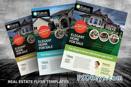 Real Estate Flyer Templates 16562 » Free Download Photoshop Vector ...