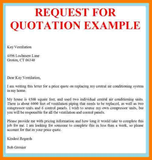 Quotation Example. Price Quote Template Price Quote Template ...
