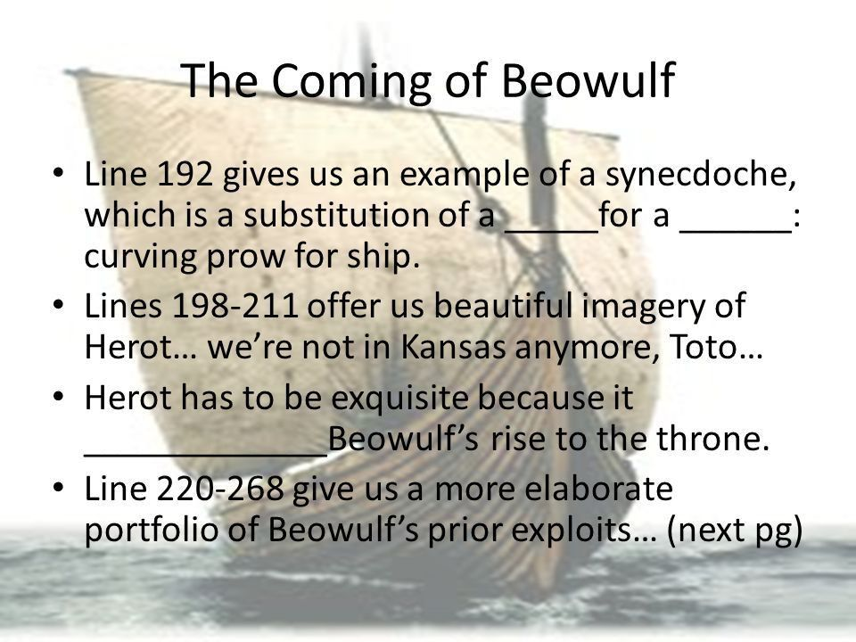 The Coming of Beowulf Part ppt download