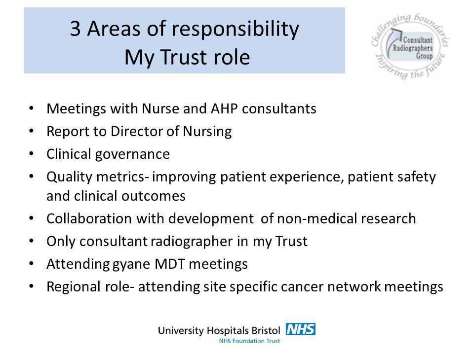 Pauline Humphrey Consultant Radiographer for Brachytherapy Bristol ...