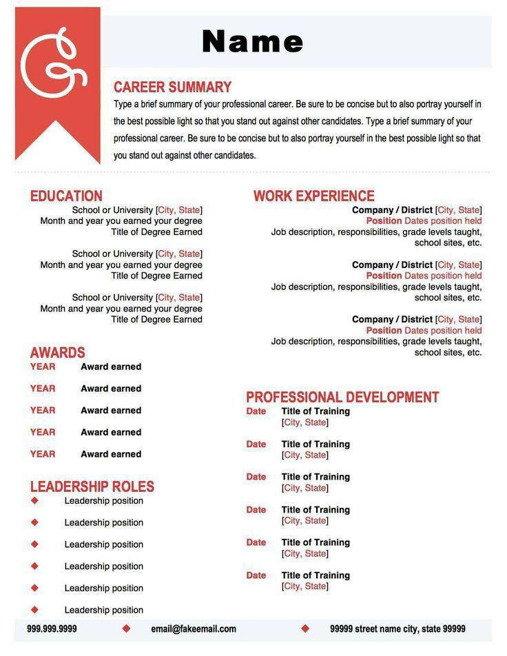 16 best Resume ideas images on Pinterest | Resume ideas, Resume ...