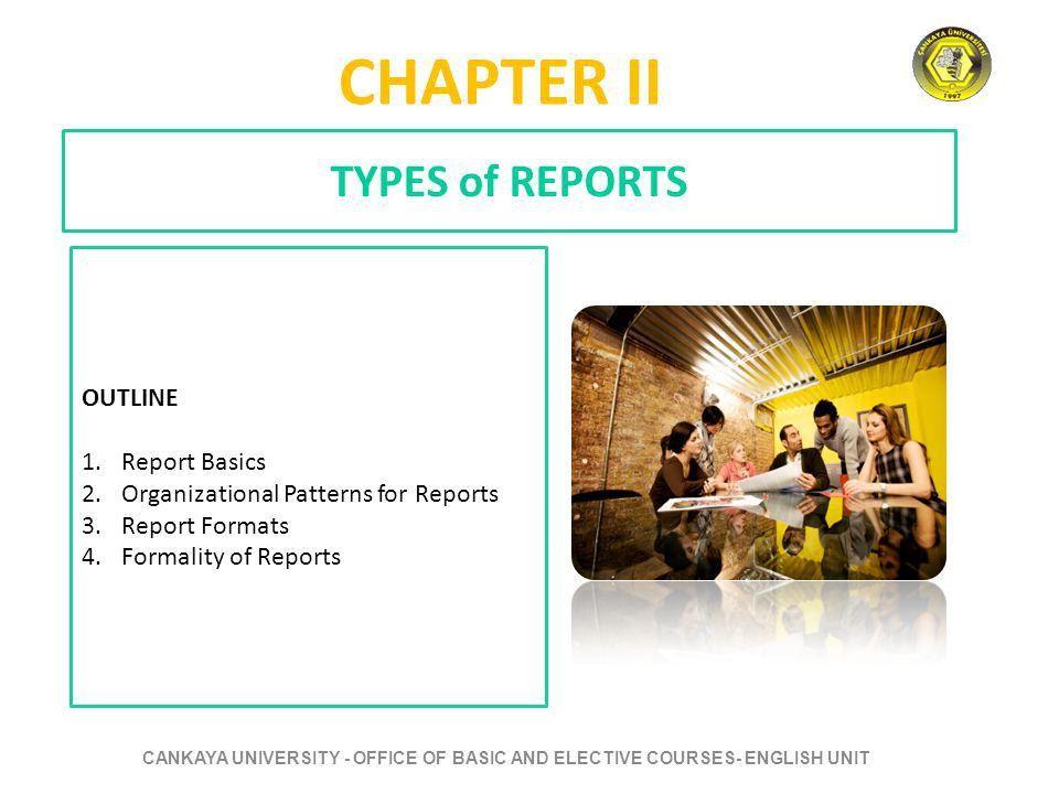 CANKAYA UNIVERSITY OFFICE OF BASIC AND ELECTIVE COURSES -ENGLISH ...