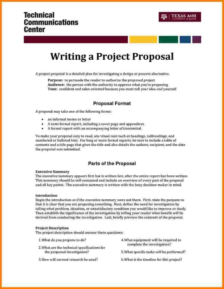 20+ Business Analysis Proposal Template | 4 Format Of Simple ...