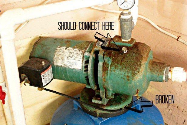 the damper side of diy {easy well pump repair}