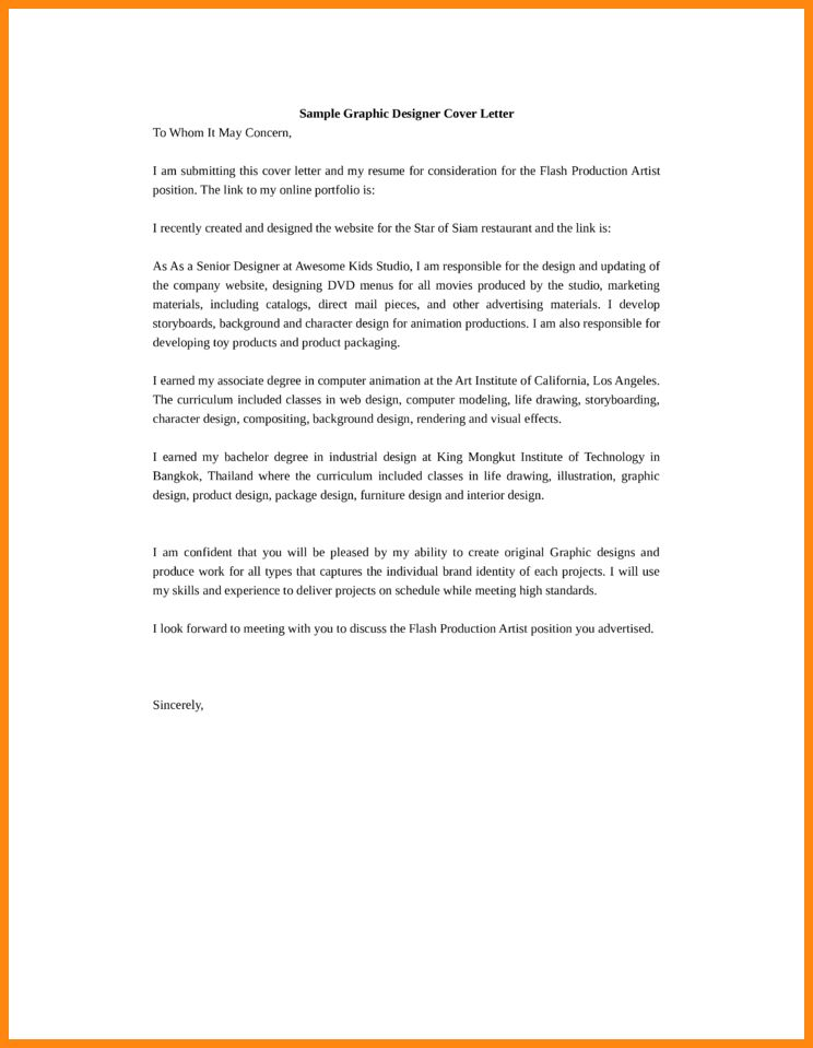 Product Designer Cover Letter] Product Designer Cover Letter Sample ...