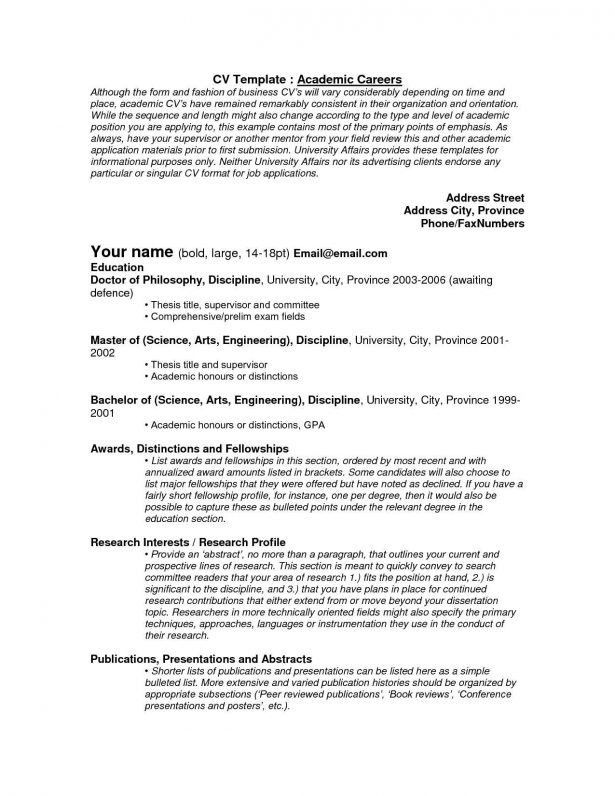 Curriculum Vitae : How To Draft A Resume Www Resume Format Free ...