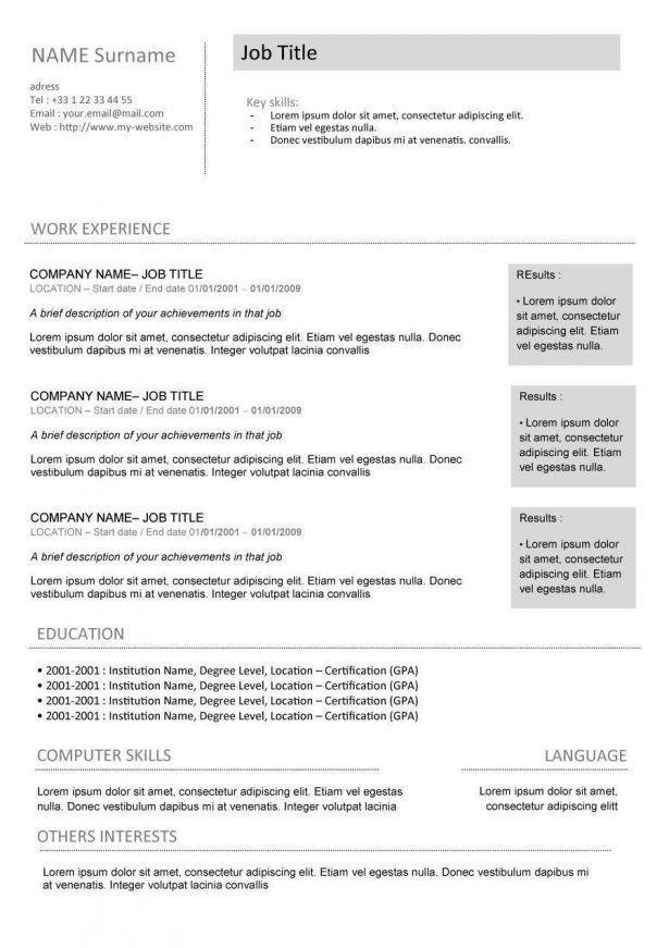Resume : Free Teacher Resume Templates Download Photo Teacher ...