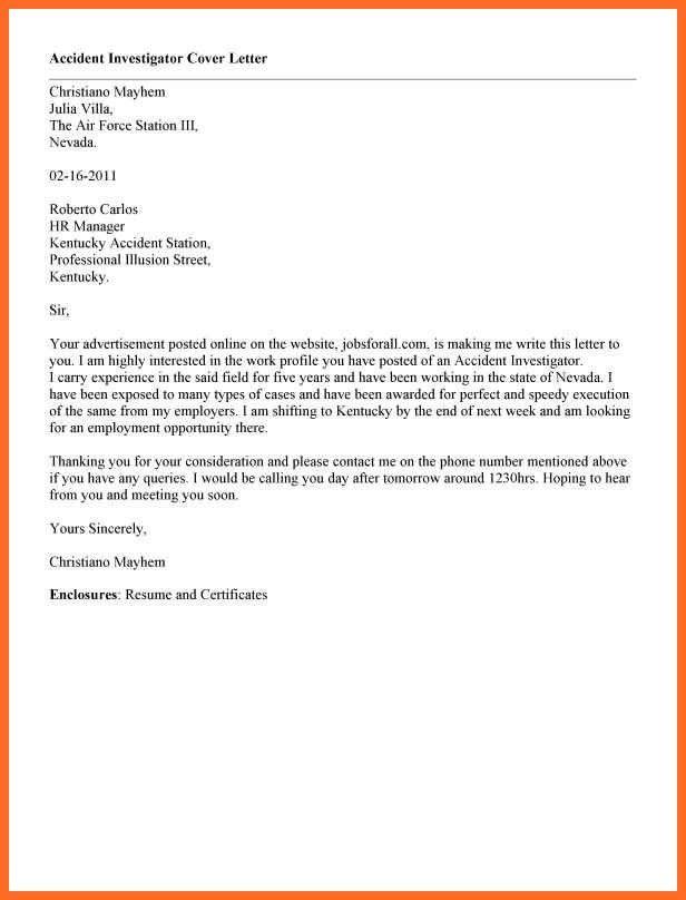 addressing cover letter | soap format