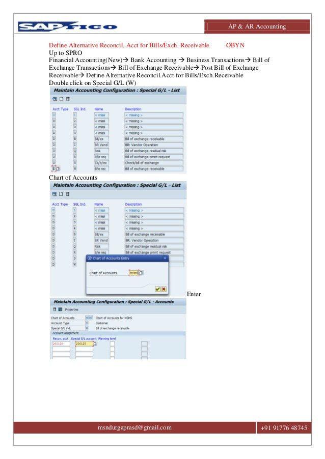 SAP ACCOUNTS RECEIVABLE & ACCOUNTS PAYABLE