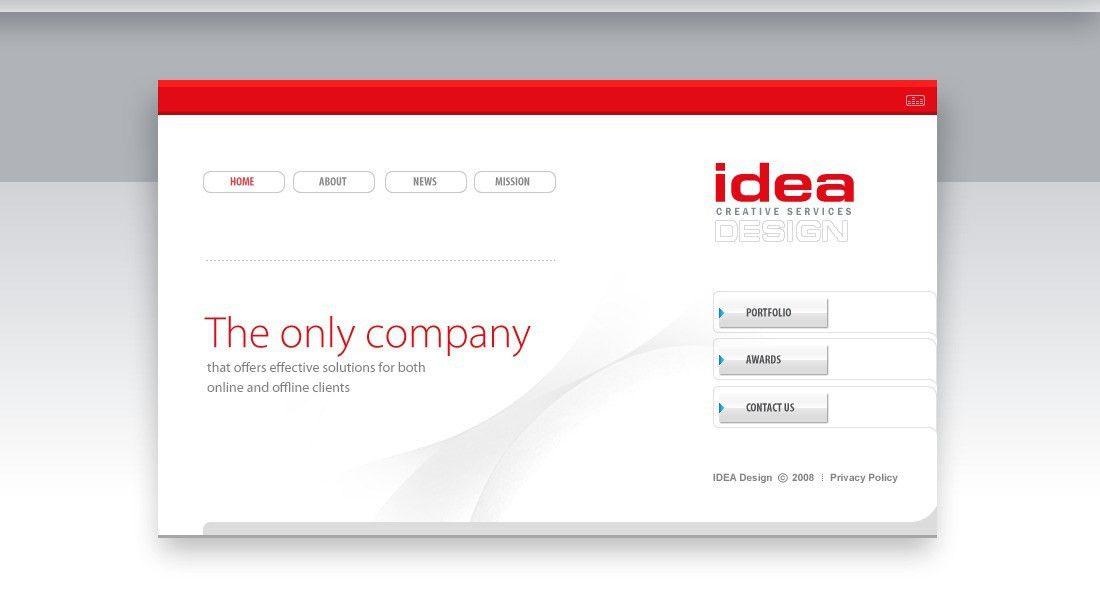 Website Template #20855 Idea Design Web Custom Website Template ...