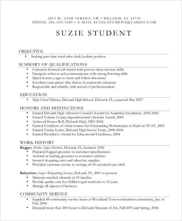 Teenage Resume Example. Youth Development Resume Sample & Template ...