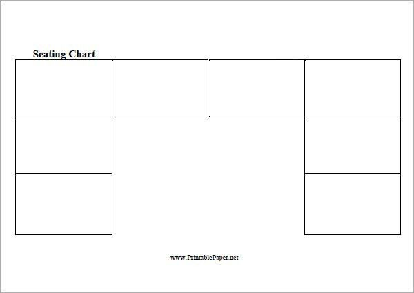 Sample Seating Chart Template - 6+ Free Documents in PDF, Excel