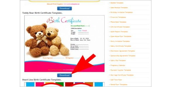How to Create a Birth Certificate using Word – Tutorial | Free ...