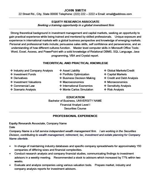 Clinical Research Associate Resume [Nfgaccountability.com ]