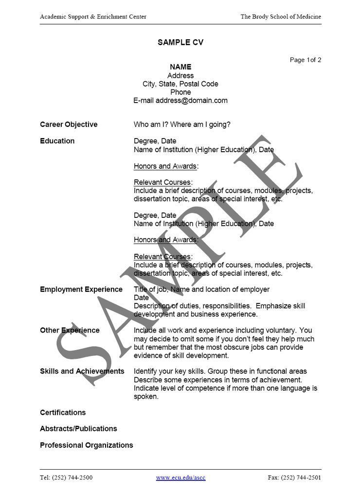 Download How To Write Cv Resume | haadyaooverbayresort.com