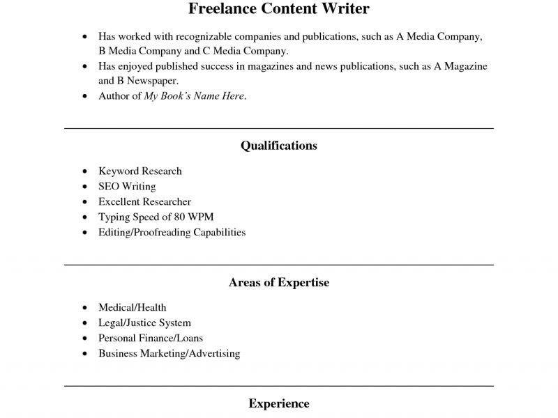 Resume Writing Template - Resume CV Cover Letter