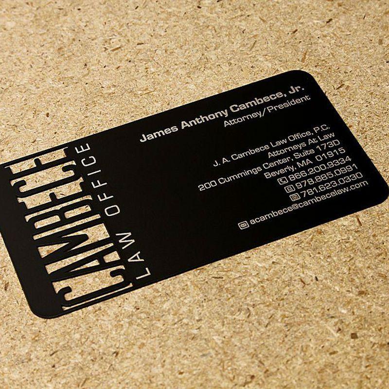 Aliexpress.com : Buy Electrophoresis metal card black metal ...