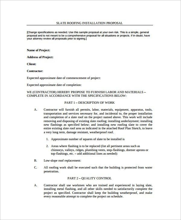 "Roofing Invoice & Roofing Contract Form Template Test.""""sc"":1""st ..."