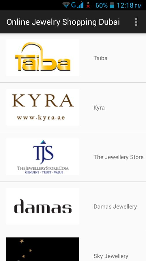 Online Jewelry Stores Dubai - Android Apps on Google Play
