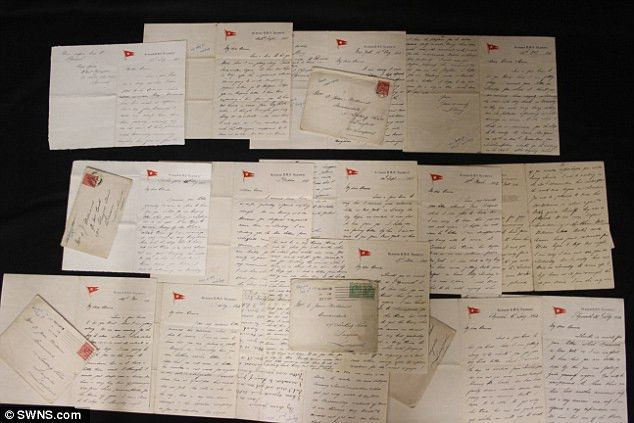 Haunting letters reveal Titanic officer's 'queer feeling' about ...