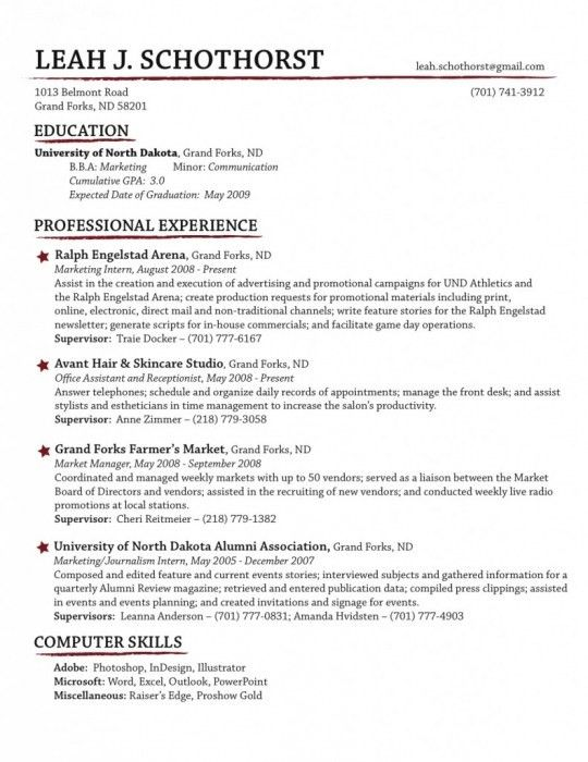 Brilliant How To Organize Your Resume | Resume Format Web