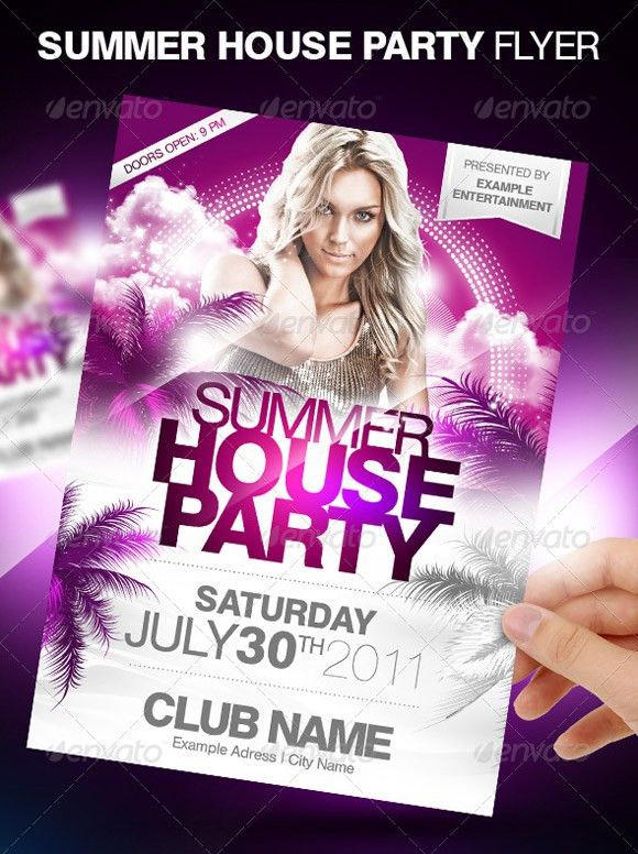 Flyer Templates: 30 Premium Party Advertisment Designs - JoomlaVision