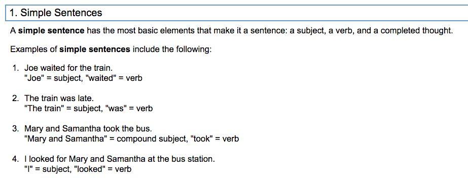 Simple, Compound, & Complex Sentences - Team 150 Voyagers!