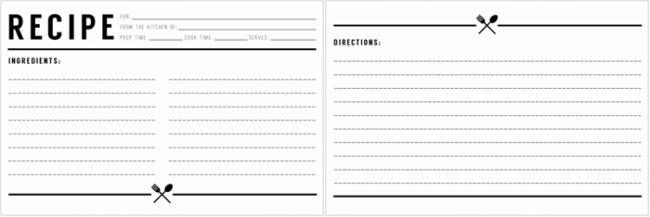 Cookbook Templates: Create Your Own Recipe Book (Word, PDF)