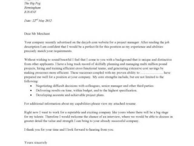 job application cover letter examples do you have any other ...