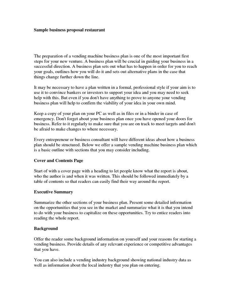Business Proposals Format. Construction Business Proposal Template ...