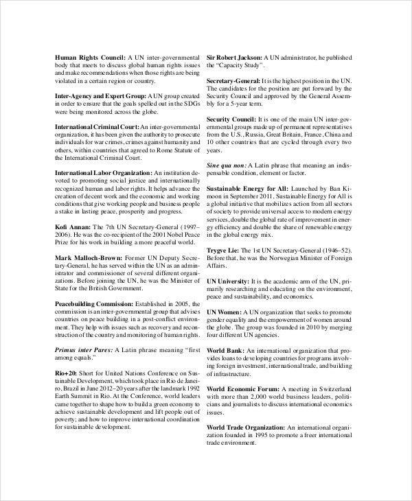 Professional Agenda Template - 5+ Free Word, PDF Documents ...
