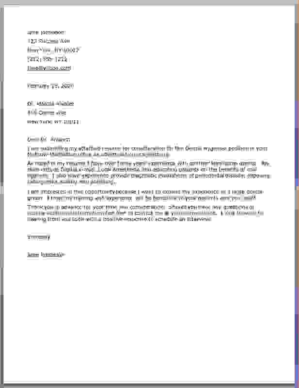 Dental Assistant Cover Letter. 8Dlesxv Dental Assistant Cover ...