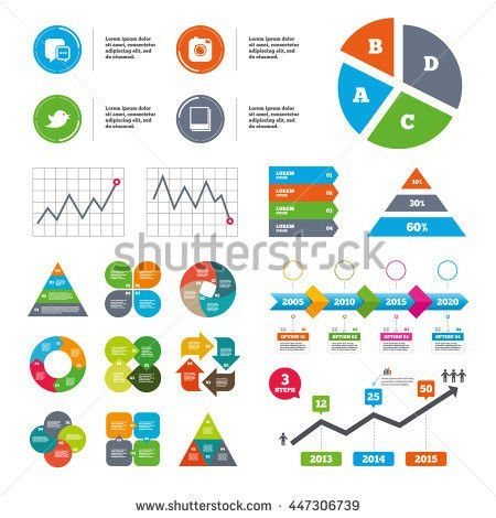Data Pie Chart Graphs Battery Charging Stock Vector 436268026 ...