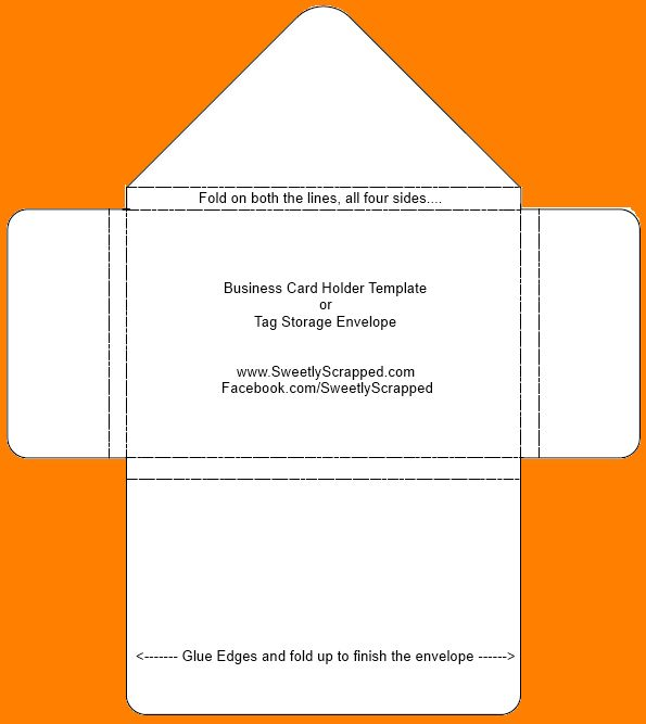 6+ business envelope template | Outline Templates