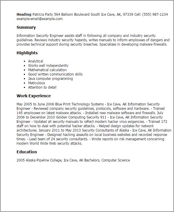 security officer resume examples httpwwwjobresumewebsitesecurity ...