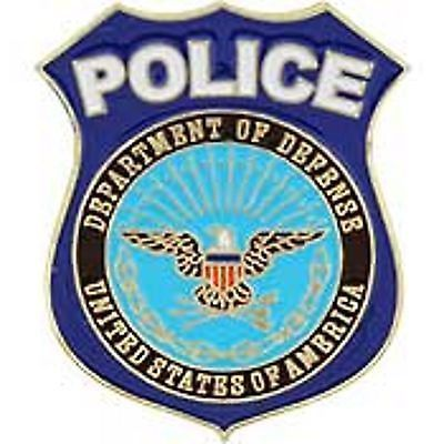 United States of America Department of Defense POLICE Badge Lapel ...