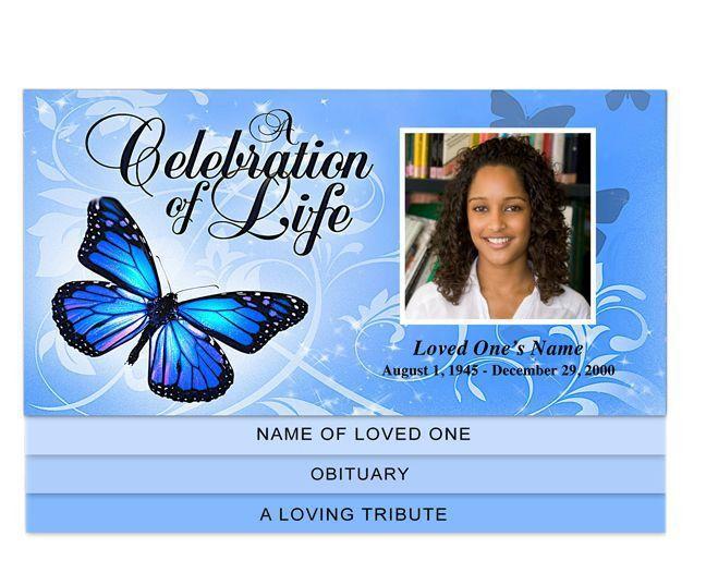 30 best Creative Memorials - Graduated Style Funeral Programs ...