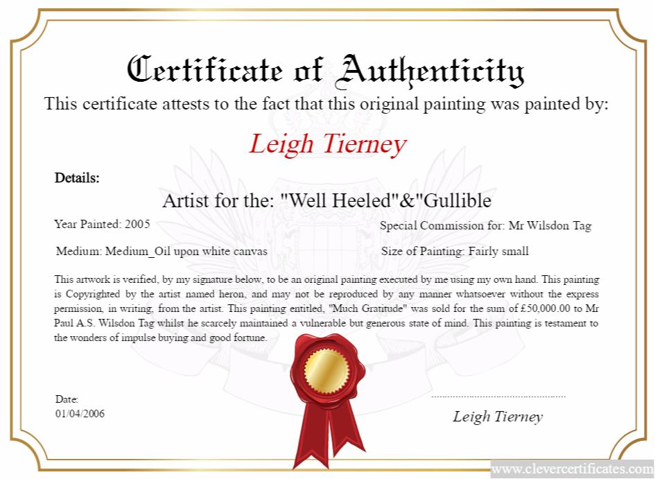 artist #maker Design, download and print your FREE Certificate of ...