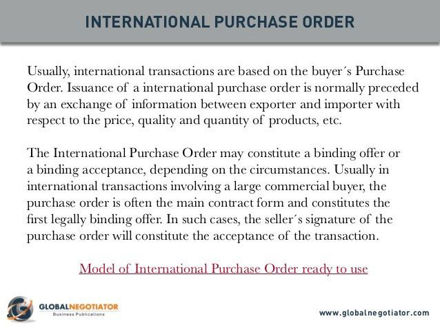 International Trade Documents: 10 Top Documents