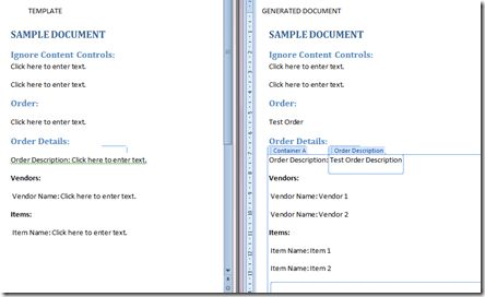 Utility to generate Word documents from templates using Visual ...