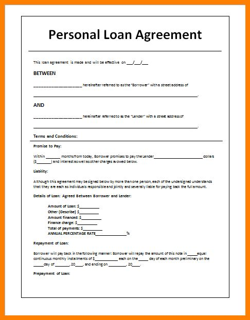 7+ sample loan agreement between two parties | farmer resume