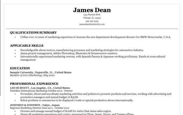 The 10 Best Fonts To Use On Your Resume 2016 | RecentResumes.com