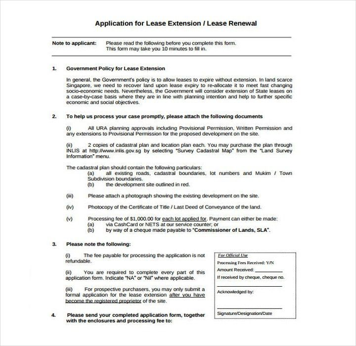 Lease Renewal Form. Business – Leasing | New Zealand Legal ...