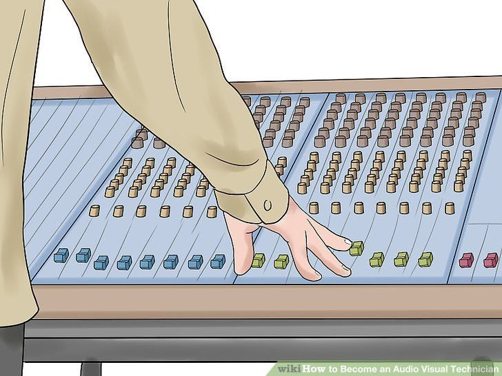 How to Become an Audio Visual Technician: 6 Steps (with Pictures)